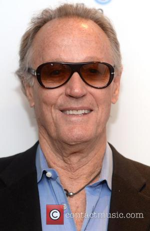 Peter Fonda - Peter Fonda at the BFI South Bank to talk about the movie 'Easy Rider' - London, United...