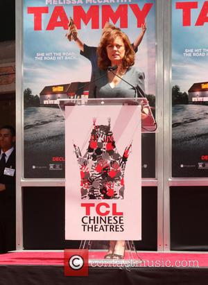 Susan Sarandon - Melissa McCarthy's hand and footprint ceremony hel d at the TCL Chinese Theatre - Los Angeles, California,...