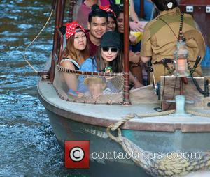 Miranda Cosgrove - Miranda Cosgrove spends the afternoon at Disneyland - Anaheim, California, United States - Wednesday 2nd July 2014