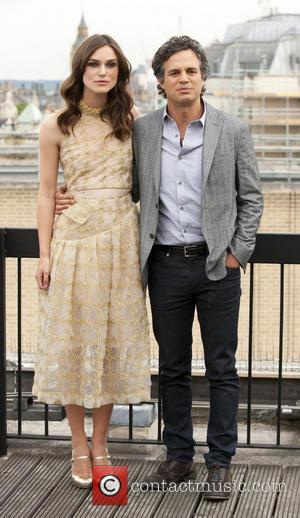 Keira Knightley and Mark Ruffalo - 'Begin Again' photocall held at St Vincent House - London, United Kingdom - Wednesday...