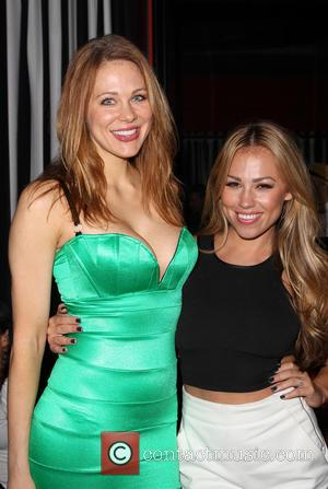 Maitland Ward and Jessica Hall
