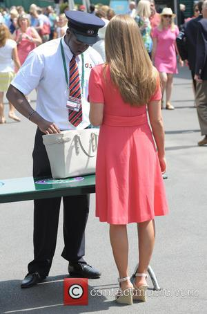 Kim Sears - 2014 Wimbledon Championships held at the All England Club - Celebrity Sightings - Day 9 - London,...