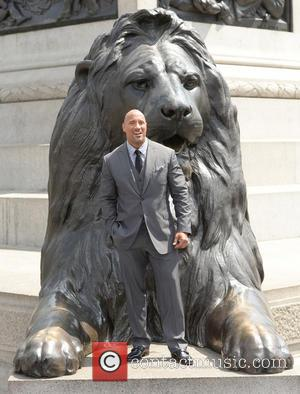 Dwayne Johnson, Trafalgar Square