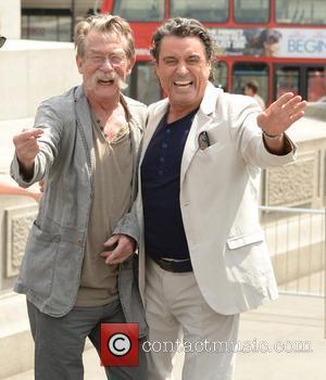 John Hurt and Ian McShane - 'Hercules' photocall held in Trafalgar Square - London, United Kingdom - Wednesday 2nd July...