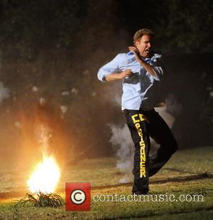 Will Ferrell - Funnyman Will Ferrell filming late scenes for his new comedy movie 'Get Hard' in Los Angeles. The...