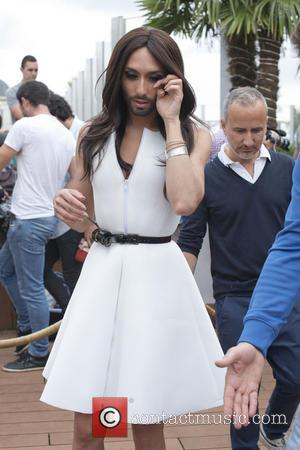 Conchita Wurst Makes Modelling Debut At Paris Fashion Week