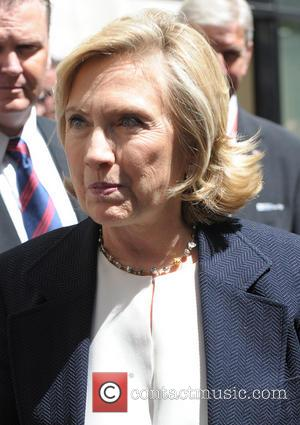 Hilary Clinton - Hilary Clinton leaving the BBC Radio 2 studios - London, United Kingdom - Thursday 3rd July 2014