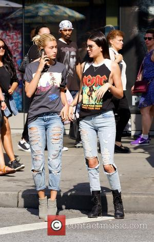Kendall Jenner and Hailey Balwin