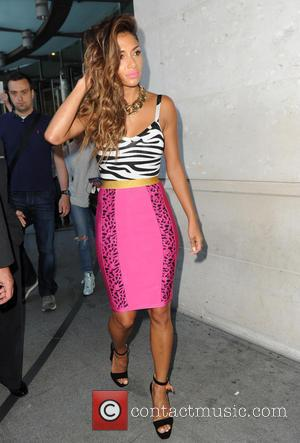 Nicole Scherzinger - Nicole Scherzinger at the BBC Studios in London - London, United Kingdom - Thursday 3rd July 2014
