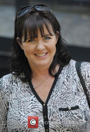 Coleen Nolan - Coleen Nolan leaving the ITV studios - London, United Kingdom - Thursday 3rd July 2014