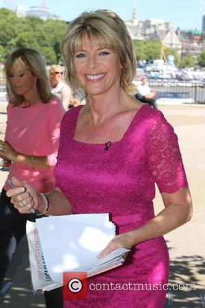 Loose Women and Ruth Langsford - Loose Women filming a segment on the Southbank - London, United Kingdom - Thursday...
