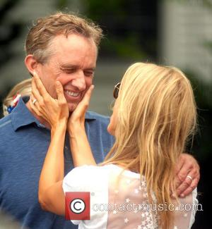 Cheryl Hines and Robert F. Kennedy Jr.