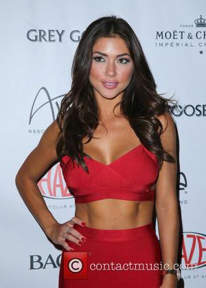 Arianny Celeste - Octagon Girls Arianny Celeste and Brittney Palmer at HAZE Nightclub at ARIA - Las Vegas, Nevada, United...