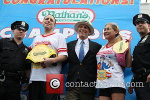 New York Finest, George Shea, Miki Sudo and Joey Chestnut