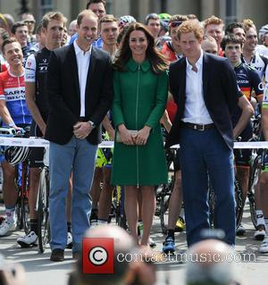 Kate Middleton, Prince Harry, Catherine Duchess Of Cambridge and Prince William Duke Of Cambridge