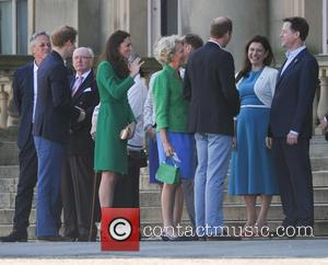 Prince Harry, Kate Middleton, Nick Clegg, Miriam Clegg, Catherine Duchess Of Cambridge and Prince William Duke Of Cambridge