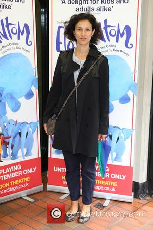 Indira Varma - Celebrities attend a photocalll to celebrate the opening of the National Theatre production of The Elephantom in...