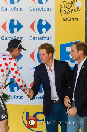 Jens Voigt, Prince Harry, Prince William and Duke Of Cambridge