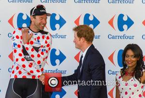 Jens Voigt and Prince Harry