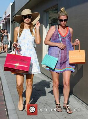Paris Hilton And Sister Nicky Hilton Take To Malibu On Luxury Shopping Trip
