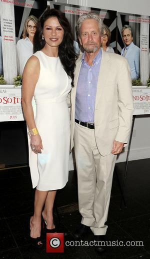 Catherine Zeta-Jones speaks about Michael Douglas' battle with cancer