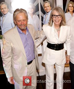 Michael Douglas and Diane Keaton - The Hampton premiere of 'And So it Goes' at Guild Hall in East Hampton...