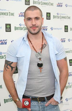 Shayne Ward - Backstage at British Summer Time in Hyde Park. London - London, United Kingdom - Sunday 6th July...