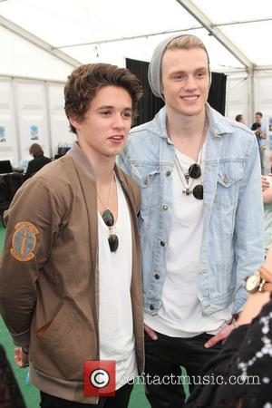 The Vamps, Brad Simpson and Tristan Evans