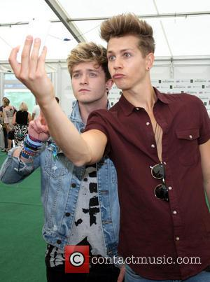 The Vamps, Connor Ball and James Mcvey