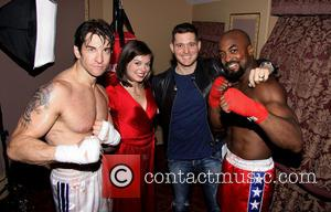 Andy Karl - Backstage at Broadway's Rocky
