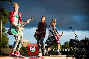 Tom Fletcher, Danny Jones, Dougie Poynter and Mcbusted