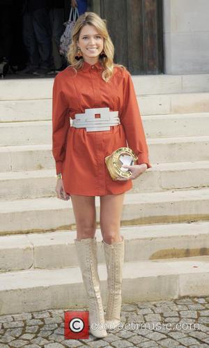 Helena Bordon - Paris Fashion Week - Haute Couture Fall-Winter 2014/15 - Atelier Versace - Arrivals - Paris, France -...