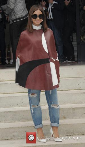 Versace and Miroslava Duma