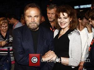 Fanny Ardant and Franco Nero