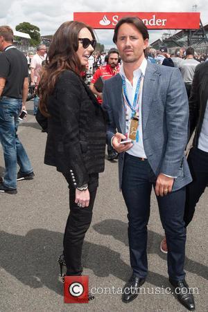 Petra Ecclestone and James Stunt - 2014 Formula 1 Santander Silverstone British Grand Prix - Race Day - Celebrity Sightings...
