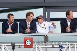 Prince Harry and Sir Jackie Stewart