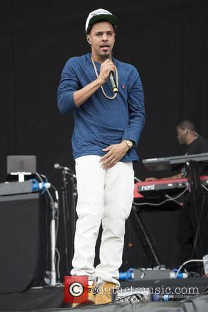 J. Cole - Wireless Festival 2014 - Day 3 - Performances - J. Cole - London, United Kingdom - Sunday...