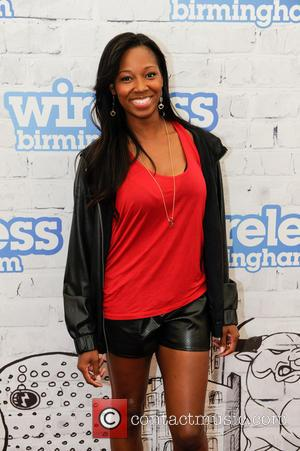 Jamelia - Wireless Festival 2014 - Day 3 - Backstage - Birmingham, United Kingdom - Sunday 6th July 2014