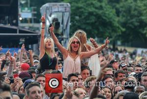 Tinie Tempah - Wireless Festival 2014 - Day 3 - Atmosphere - Birmingham, United Kingdom - Sunday 6th July 2014