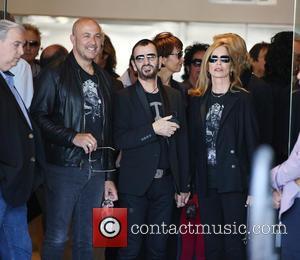 John Varvatos, Ringo Starr and Barbara Bach Starr