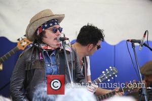 Adam Ant - People took to the streets of Soho to celebrate the 65th anniversary of Bar Italia, the coffee...