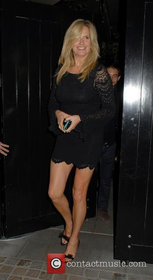 Penny Lancaster - Celebrities at the Chiltern Firehouse in Marylebone - London, United Kingdom - Monday 7th July 2014