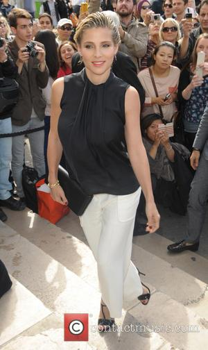 Elsa Pataky - Celebrities at the Armani Cat Walk Show - Paris, France - Tuesday 8th July 2014