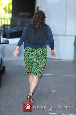 Kirstie Allsopp - Kirstie Allsopp outside ITV Studios - London, United Kingdom - Tuesday 8th July 2014