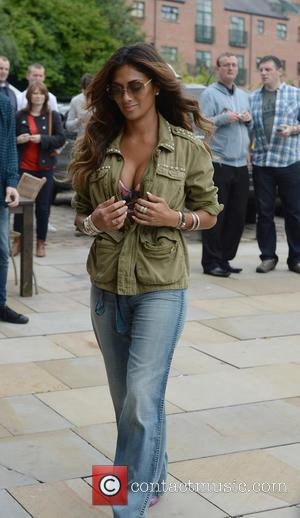 Nicole Scherzinger - Nicole Scherzinger arrives at Key 103 Radio Station Manchester to promote her new music. - Manchester, United...