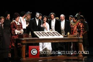 Michele Mcconnell, Jeremy Hays, Norm Lewis, Sierra Boggess, Tim Jerome and Christian Sebek