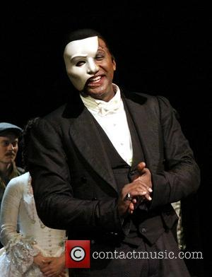Norm Lewis - Broadway's Phantom of the Opera celebrates their 11,000th performance at the Majestic Theatre - Curtain Call. -...