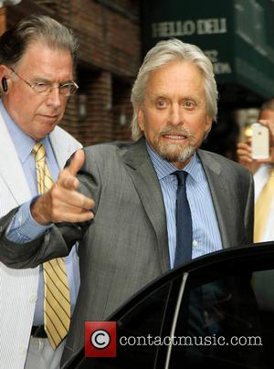 Michael Douglas - Celebrities outside The Ed Sullivan Theater for The Late Show with David Letterman - New York City,...