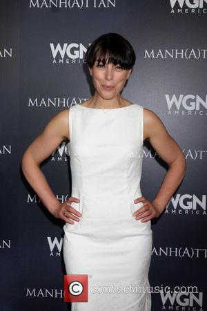 Olivia Williams - WGN's 'Manhattan' - Photocall - Beverly Hills, California, United States - Wednesday 9th July 2014