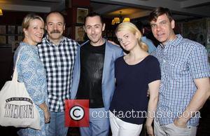 Linda Emond, Danny Burstein, Alan Cumming, Gayle Rankin and Aaron Krohn